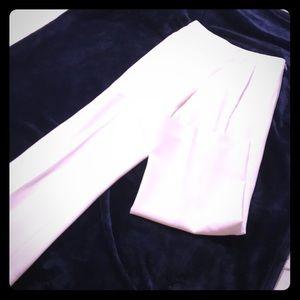 Ann Taylor 2P Ivory classic suit pants.